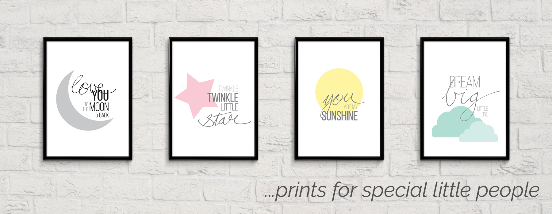 Banner – prints for little people