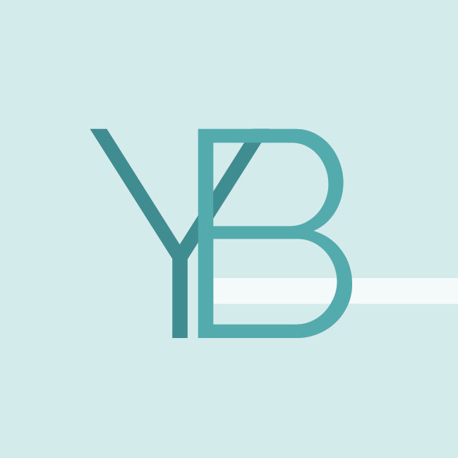 YB profile initials